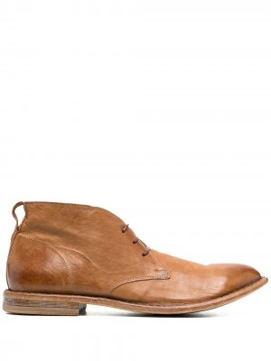 Ботинки дезерты MOMA. Цвет: коричневый