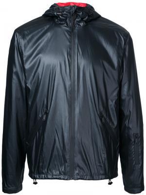 Куртка анорак с капюшоном Kent & Curwen. Цвет: чёрный
