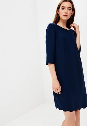 Платье Tom Tailor. Цвет: синий
