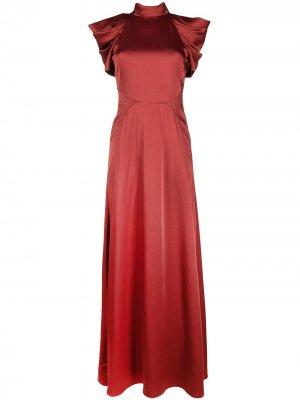 Платье Anita Temperley London. Цвет: оранжевый