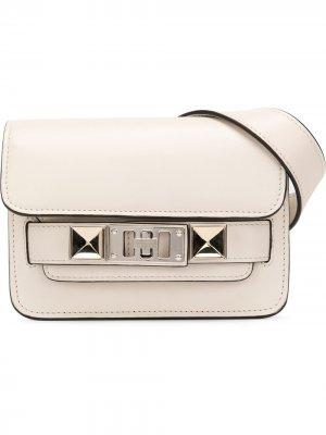 Поясная сумка Ps11 Proenza Schouler. Цвет: белый