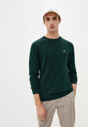 Джемпер Gant. Цвет: зеленый