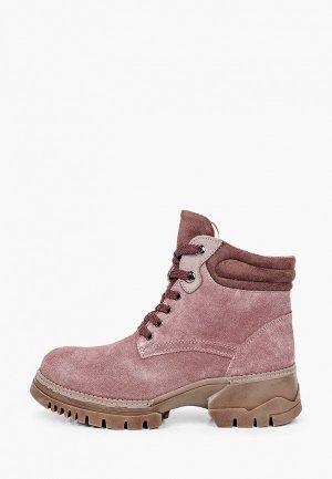 Ботинки La Grandezza. Цвет: розовый