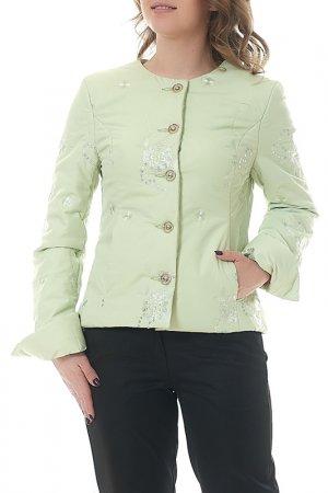 Куртка MANNON. Цвет: мятный