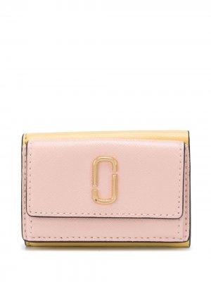 Мини-бумажник Snapshot Marc Jacobs. Цвет: розовый