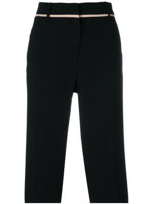 Knee-length tailored shorts Nº21. Цвет: черный