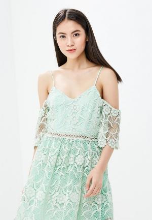 Платье True Decadence. Цвет: зеленый