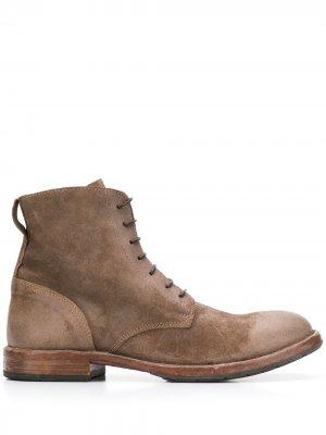 Ботинки Minsk MOMA. Цвет: коричневый
