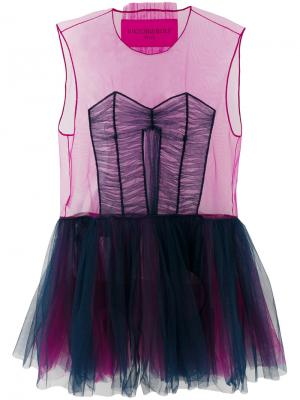 Платье Tulle Icon 1.3 Viktor & Rolf. Цвет: фиолетовый