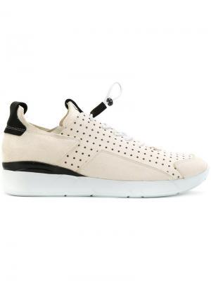 Кроссовки с эластичной шнуровкой Enso. Цвет: нейтральные цвета