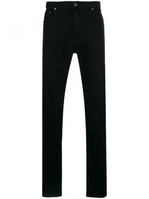 Прямые джинсы VLTN Valentino. Цвет: черный