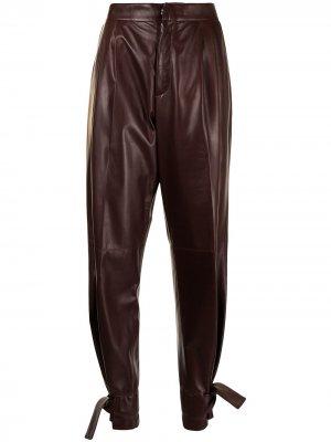 Зауженные брюки Jil Sander. Цвет: коричневый