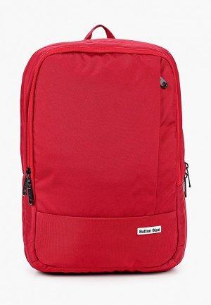 Рюкзак Button Blue. Цвет: бордовый