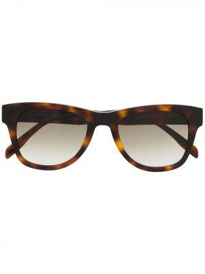 Солнцезащитные очки Ikonik черепаховой расцветки Karl Lagerfeld. Цвет: коричневый