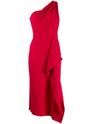 Платье Rivoli Roland Mouret. Цвет: красный