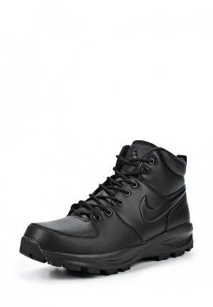 Ботинки Nike. Цвет: черный