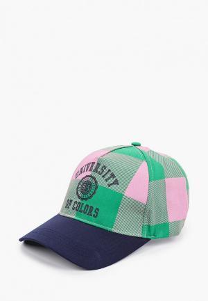 Бейсболка United Colors of Benetton. Цвет: разноцветный