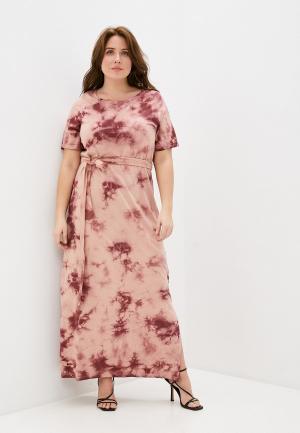 Платье Junarose. Цвет: розовый