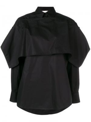 Layered collared shirt Ports 1961. Цвет: черный