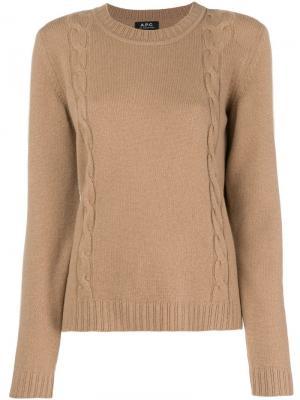 Angelica jumper A.P.C.. Цвет: коричневый