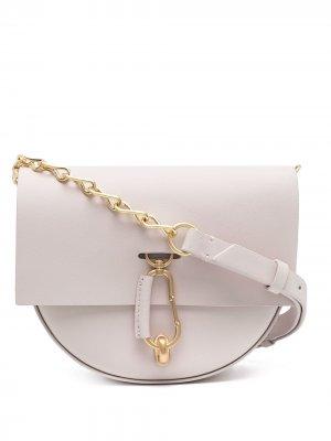 Мини-сумка через плечо Belay Zac Posen. Цвет: розовый