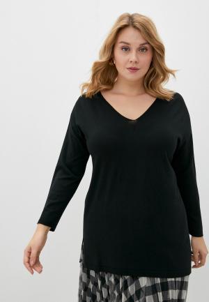Пуловер Persona by Marina Rinaldi. Цвет: черный