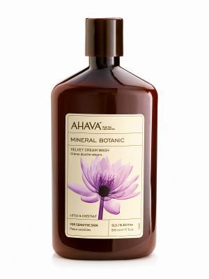 Крем для душа лотос/сладкий каштан AHAVA. Цвет: прозрачный