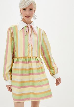 Платье Sister Jane. Цвет: разноцветный