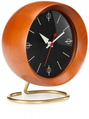 Настольные часы Chronopak (17 см) Vitra. Цвет: коричневый