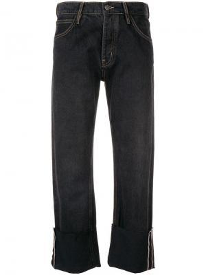 Укороченные джинсы Phoebe Mih Jeans. Цвет: черный