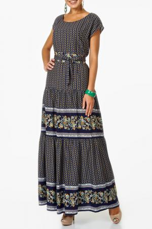Платье Argent. Цвет: темно-синий