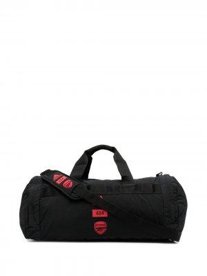Спортивная сумка Arsenal FC из коллаборации с 424 adidas. Цвет: черный