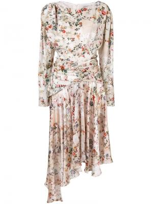Платье Kay Preen By Thornton Bregazzi. Цвет: нейтральные цвета