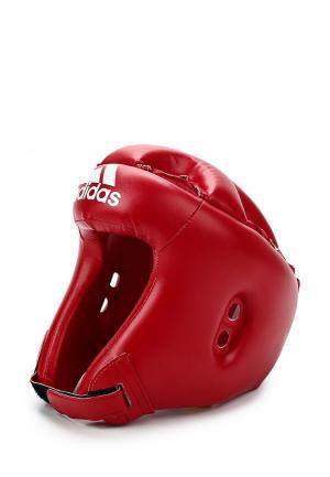 Шлем adidas Combat. Цвет: красный