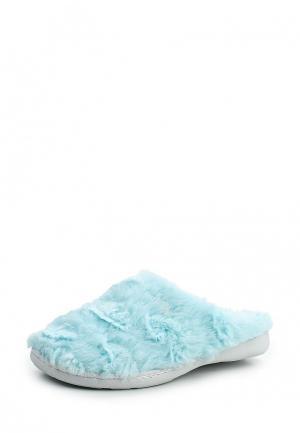 Тапочки Beppi. Цвет: голубой