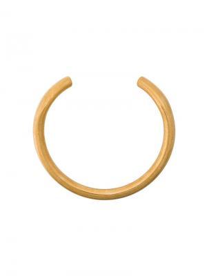 Ожерелье-чокер Marni. Цвет: золотистый