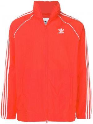 Ветровка  Originals Superstar Adidas. Цвет: красный