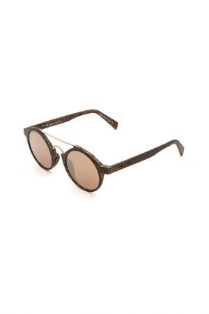 Очки солнцезащитные ITALIA INDEPENDENT. Цвет: wal 120 черный матовый