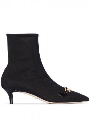 Ботильоны-носки Zumi 45 Gucci. Цвет: черный