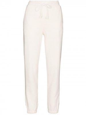 Спортивные брюки с кулиской Rails. Цвет: белый