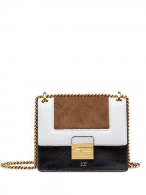 Маленькая сумка на плечо Kan U Fendi. Цвет: черный