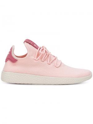 Теннисные кроссовки Hu Adidas By Pharrell Williams. Цвет: розовый