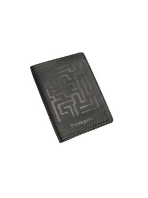 Обложка для паспорта BEFLER. Цвет: черный