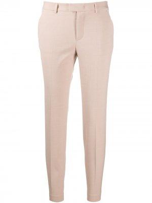 Укороченные брюки кроя слим RED Valentino. Цвет: розовый