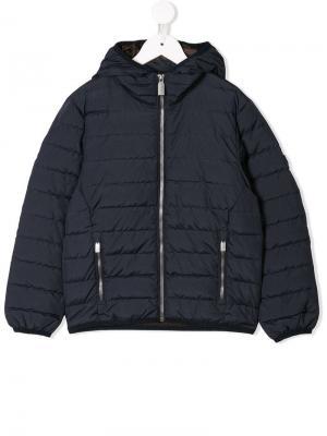 Дутая куртка с застежкой на молнии Ciesse Piumini Junior. Цвет: blue