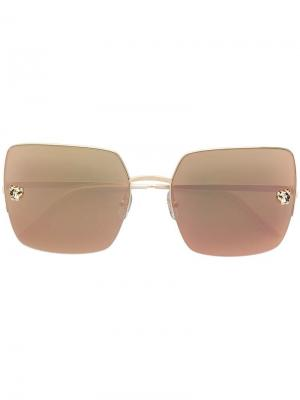Panthère de  sunglasses Cartier. Цвет: золотистый