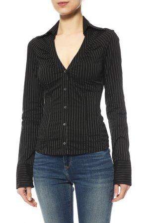 Блуза Paola Frani. Цвет: черный