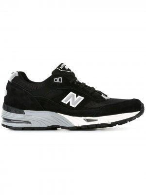 Кроссовки 991 New Balance. Цвет: черный