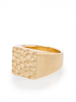 Перстень Aspect из желтого золота LAUD. Цвет: золотистый