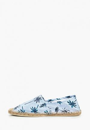 Эспадрильи Fresh Brand. Цвет: голубой